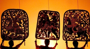 Khmer Shadow Theater