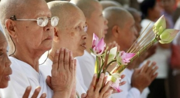 Meak Bochea Day in Cambodia