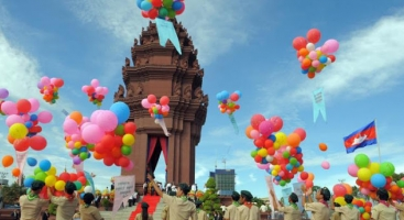 Cambodia Victory Day Over Genocidal