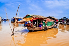 Chong Kneas Floating Villages