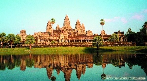 Angkor Wat Temple in Siem Reap