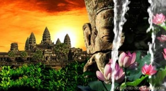 Angkor Wat Temple in Siem Reap