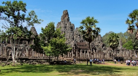 Angkor Thom Temple in Siem Reap