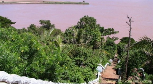 Wat Hanchey in Kampong Cham