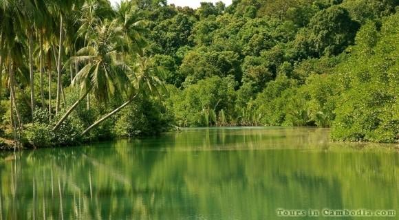 Ream National Park in Sihanouk Ville