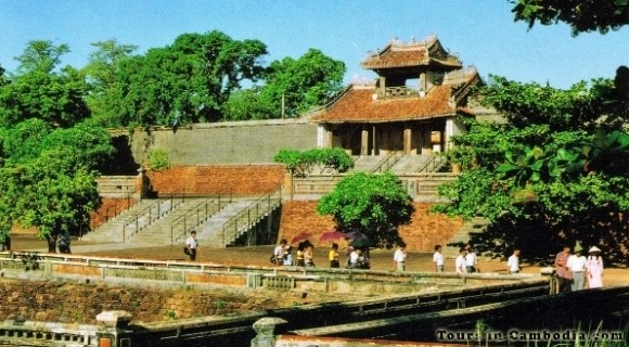 Imperial Citadel of Hue in Vietnam