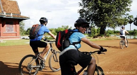 Cycling in Siem Reap