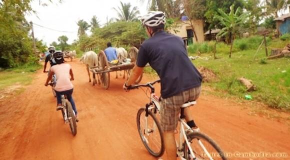 Cycling in Battambang