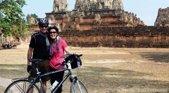 Cycling in Siem Reap