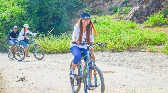 Cycling to Kampong Cham