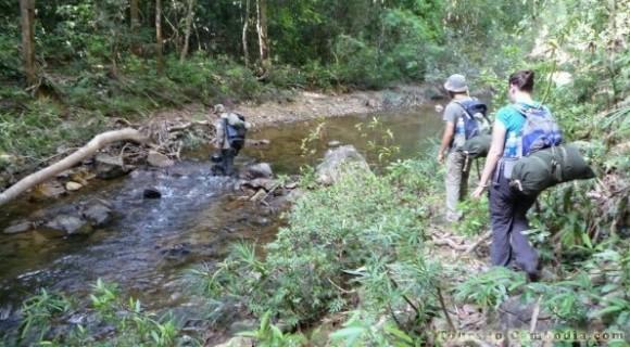 Trekking in Banlung