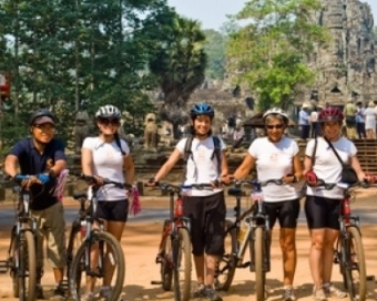 Cambodia Challenge Biking