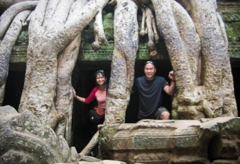 Emotion of Angkor for Honeymoon