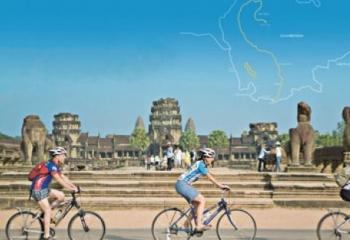 Cambodia Half Round Biking Tour